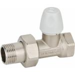 """: фото Клапан DALLAS запорный для радиаторов 1/2 x 1/2"""" прямой (8805)"""
