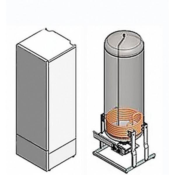 Водонагреватель косвенного нагрева NIBE VLM 300 KS со штуцером рециркуляции фото 1
