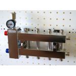 : фото Балансировочный коллектор компактный BMKSS-60-5DU, сталь AISI 304, 2 стальных кронштейна K.UF