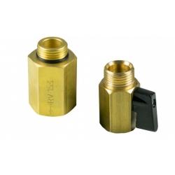 : фото Монтажный комплект (состоит из отсечного вентиля  и обратного клапана с резьбовыми соединениями)