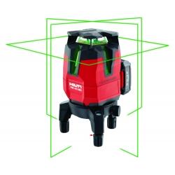: фото Мультилинейный лазерный нивелир Hilti PM 40-MG комплект с ловушкой и штативом