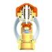 Распределительный коллектор Heimeier Dynacon Eclipse AFC на 4 контура с расходомерами, нерж. сталь фото 4
