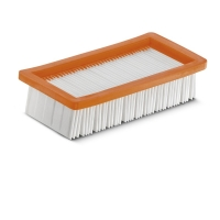 Плоский складчатый фильтр к пылесосам для золы