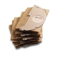 Бумажные фильтр-мешки 5 шт. для серии WD 2 Karcher