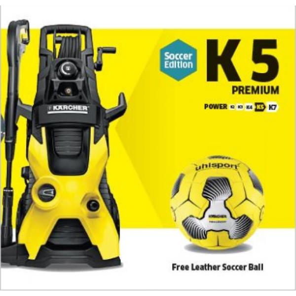 Мойка высокого давления K 5 PREMIUM FOOTBALL EDITION  фото 1