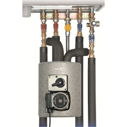 : фото Meibes Thermix смесительная группа с термостатическим приводом смесителя, диапазон настройки 25-50 °С