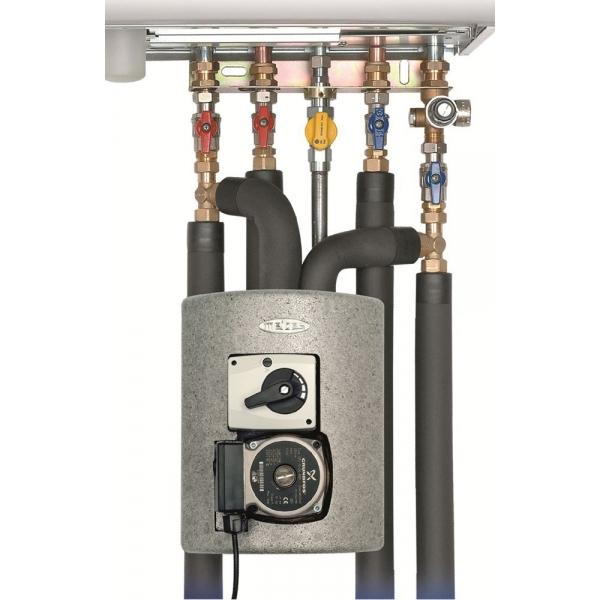 MEIBES Thermix смесительная группа с термостатическим приводом смесителя, диапазон настройки 25-50 °С фото 1