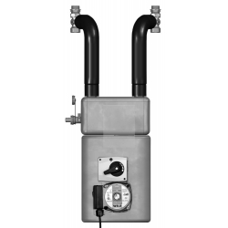 : фото Meibes Thermix смесительная группа с разделительным теплообменником и электрическим сервоприводом 220 В