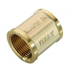 Муфта ВВ 1/2х1/2 для стальных труб резьбовой N.T.M. фото 1