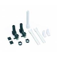 Комплект пластм. отводов для подкл. отоп. прибора с пом. труб Flex/Pink
