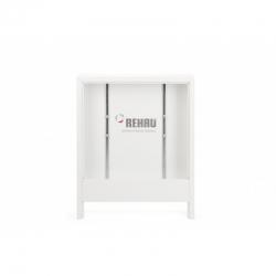 : фото Шкаф коллекторный, приставной, тип AP 130/500 белый