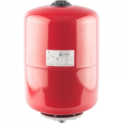 : фото Расширительный бак для отопления (Stout) Varem, 18л, красный