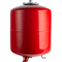 Расширительный бак для отопления (Stout) Varem, 150 л, красный
