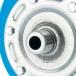 Гидроаккумулятор для водоснабжения (STOUT) Varem, 20 л, горизонтальный, синий, сменная мембрана фото 4
