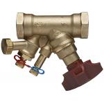 """: фото Балансировочный клапан STAD, c дренажем G 1/2"""", DN15, ВР, AMETAL"""