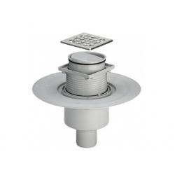 : фото Трап для ванной комнаты Viega Advantix с мокрым затвором (вертикальный выпуск)