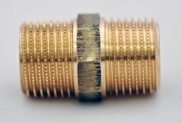 "Ниппель VIEGA(бронза) НН 3/8"" фото 1"