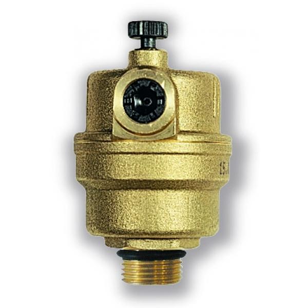 """Автоматический воздухоотводчик WATTS MICROVENT MKV 15 R (с запорным клапаном R), 1/2"""" фото 1"""