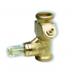 """: фото Балансировочный вентиль WattFlow c расходомером SRV-AG, НР 1 1/2"""", DN32"""