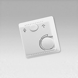 : фото Комнатный биметаллический термостат BELUX EFH-AP