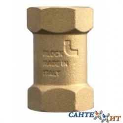 """: фото Клапан обратный пружинный с пластиковым седлом 1/2"""" ITAP BLOCK ART 101"""