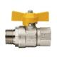 "Кран шаровой муфта/резьба для газа полнопроходной 1/2""  ITAP London ART 069 (бабочка)"