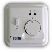 Терморегулятор REHAU Basic 10 А, с выносным датчиком температуры и светодиодной индикацией