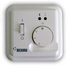 Терморегулятор REHAU Basic 10 А, с выносным датчиком температуры и светодиодной индикацией фото 1