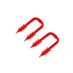 : фото Гарпун-скоба для крепления шин RAUFIX на изоляции