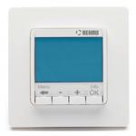 : фото Терморегулятор Rehau Optima 10 A, с цифровым дисплеем, многофункциональный, программируемый, с датчиком температуры