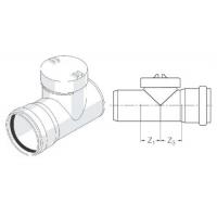 Ревизия с резиновым уплотнительным кольцом 110 Rehau
