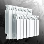 : фото Радиатор биметаллический Rifar Monolit 350