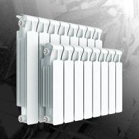 Радиатор биметаллический Rifar Monolit 500 - 4 секции