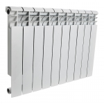 : фото Радиатор алюминиевый Rommer Plus 500 4 секции