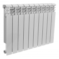 : фото Радиатор биметаллический Rommer 10 секций OPTIMA Bm 500-10