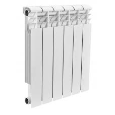Радиатор биметаллический Rommer 6 секций PROFI Bi500-80-150-6 фото 1