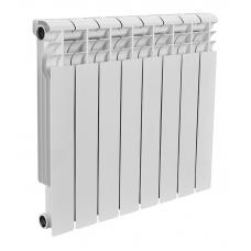 Радиатор биметаллический Rommer 8 секций PROFI  Bi500-80-150-8 фото 1
