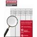 Радиатор биметаллический ROMMER 6 секций OPTIMA Bm 500-6 фото 5