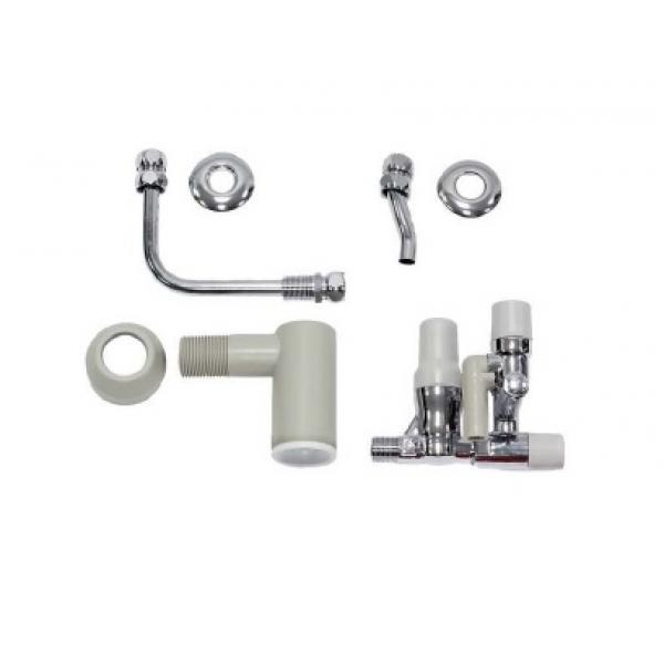 Группа безопасности без редуктора давления с присоединительной трубной обвязкой R 1/2'' для VIH Q 75B и VIH QL 75B фото 1