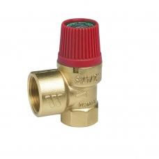 Клапан предохранительный Watts  SVH 15 х 1 1/4 для систем отопления (красный колпачок) 02.19.415 фото 1