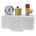 : фото Группа безопасности котла в теплоизоляции Watts KSG 30/ISO2 (до 50 кВт)