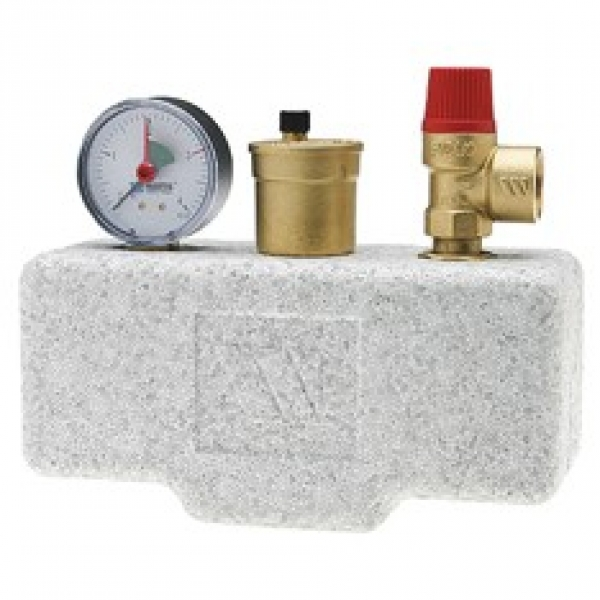 Группа безопасности котла в теплоизоляции WATTS KSG 30/20M-ISO (до 100 кВт) фото 1