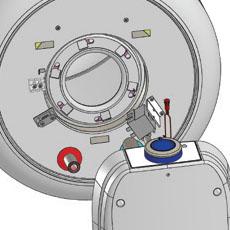 Диаметр отверстия фланца 100 мм обеспечивает быструю и лёгкую очистку