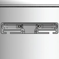 Универсальный кронштейн обеспечивает простой монтаж