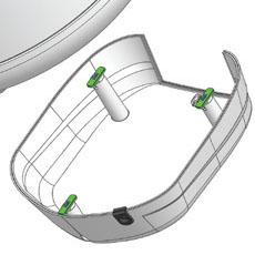 Быстрый и лёгкий демонтаж защитной крышки