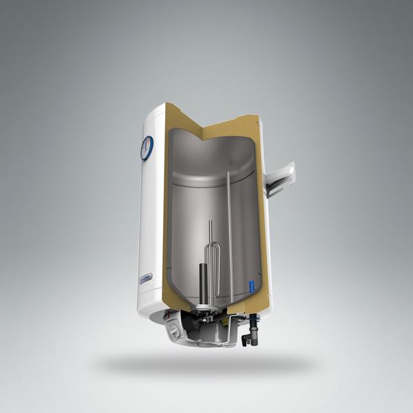 Конструкция водонагревателя MB Inox R Metalac