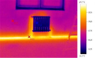 Отчет № 2 (снимок радиаторов отопления)