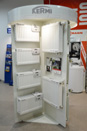 Выставочный стенд панельных радиаторов Kermi