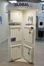 Выставочный стенд радиаторов Global