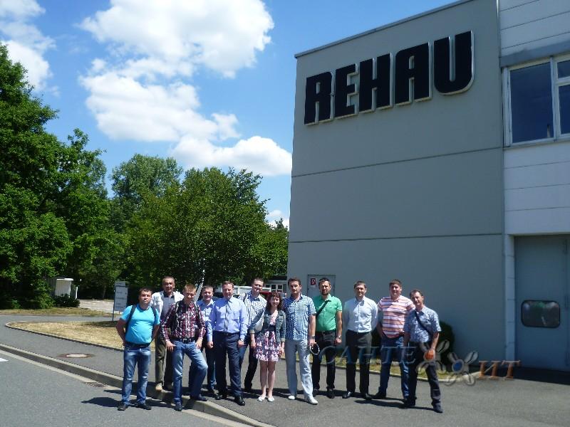 На заводе Rehau